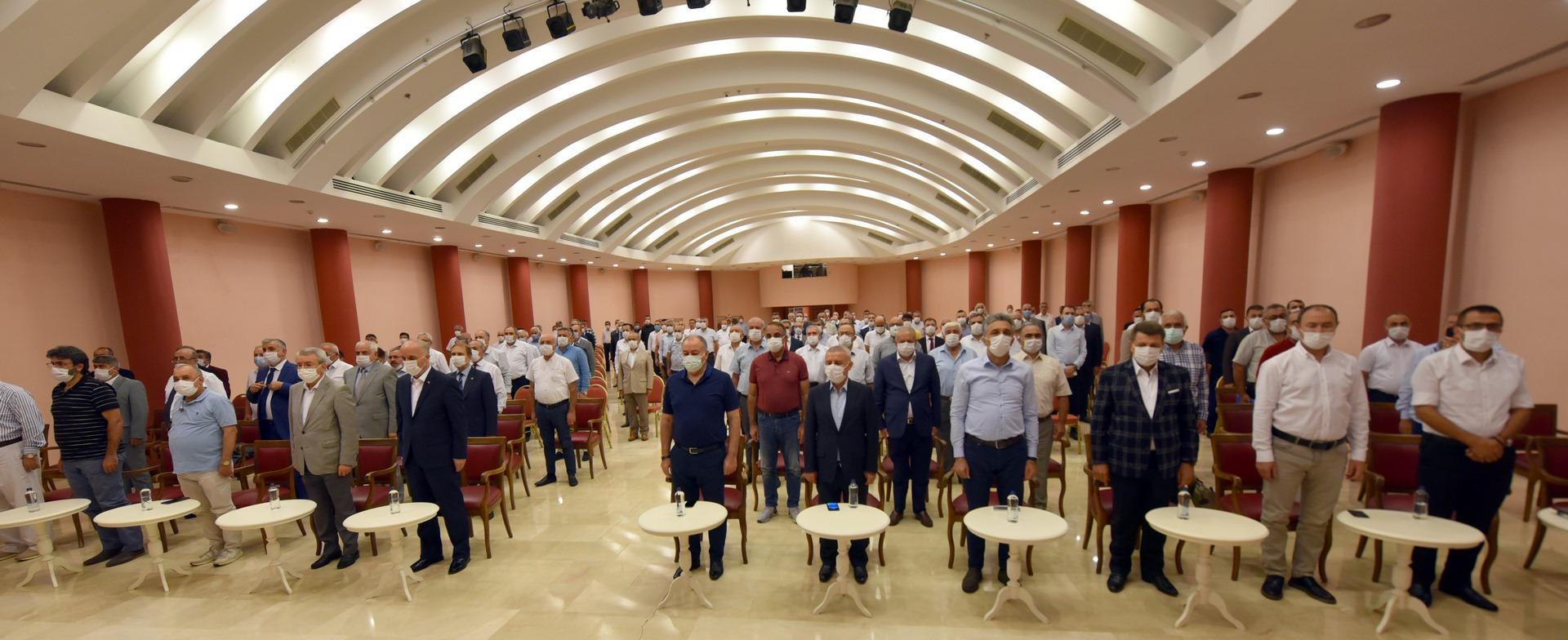 Türkiye İşçi Sendikaları Konfederasyonu Şube Başkanları ve İl Temsilcileri Toplantısı Açılış Programı, 2 Eylül 2020 Çarşamba günü Aydın'ın Didim ilçes