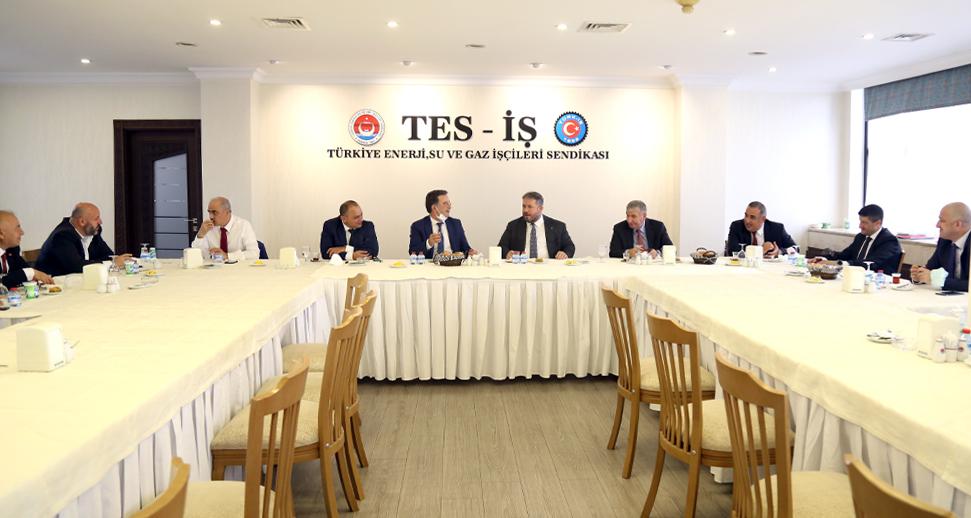TEİAŞ, EÜAŞ, TEDAŞ İşyerleri 2021-2023 TİS Görüşmeleri Başladı